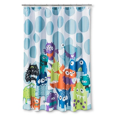 Circo Shower Curtain Monsters