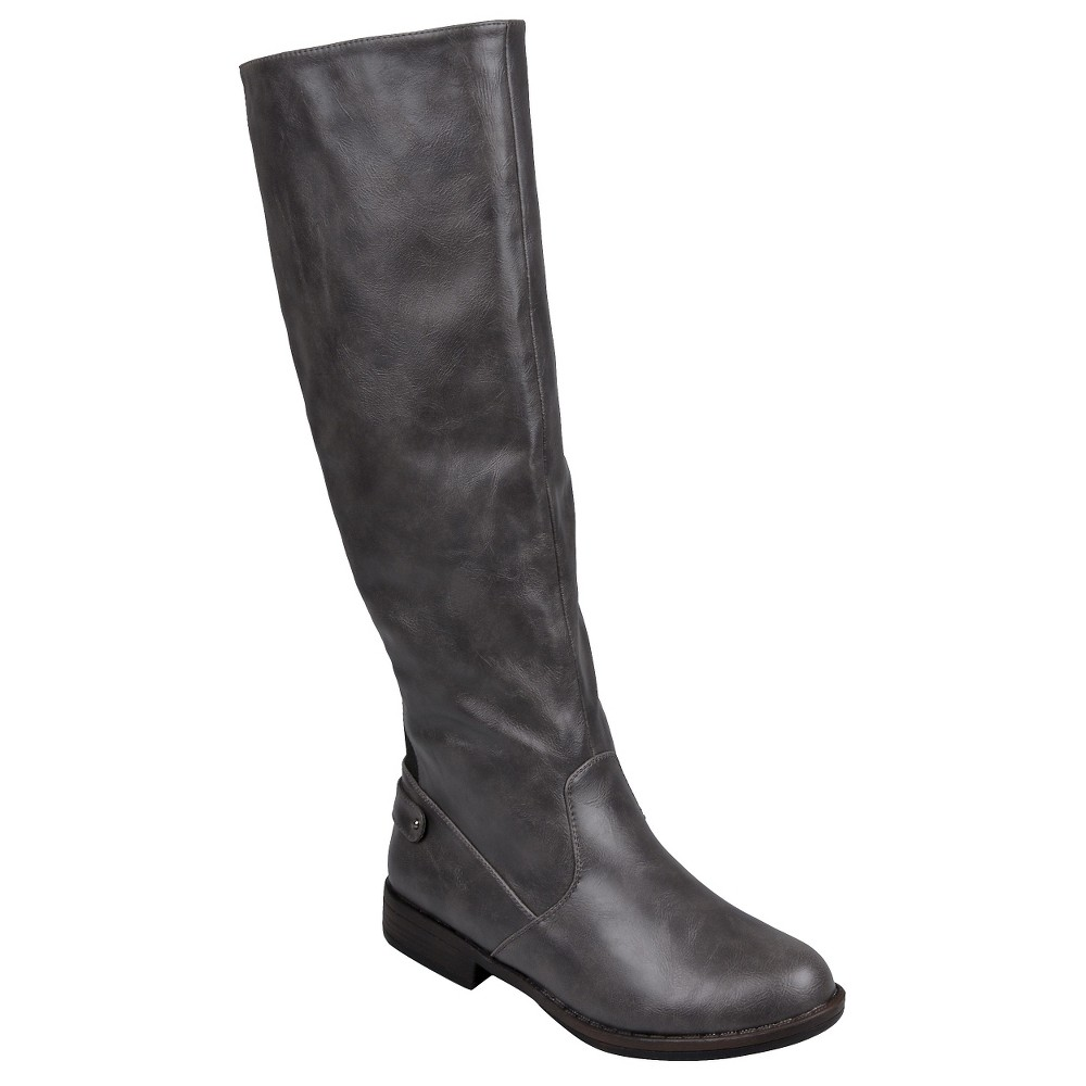 Womens Journee Collection Boots - Gray 7.5