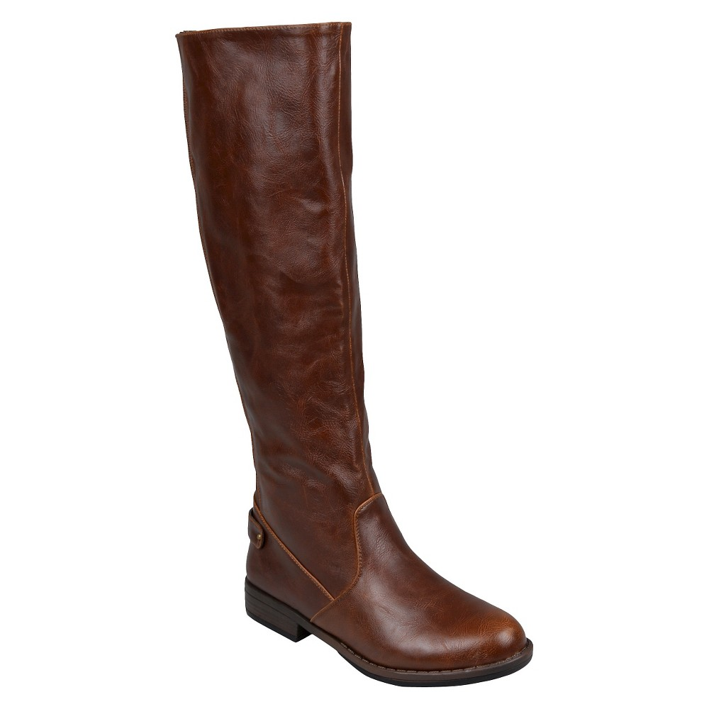 Womens Journee Collection Boots - Brown 7.5
