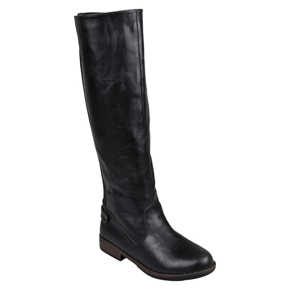 Womens Journee Collection Boots - Black 6.5