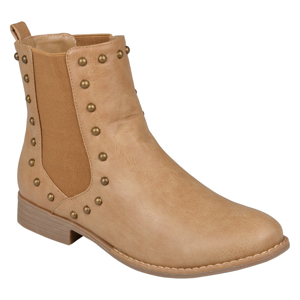 Womens Hailey Jeans Boots - Natural 8