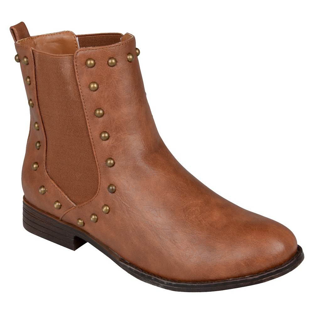 Womens Hailey Jeans Boots - Brown 8