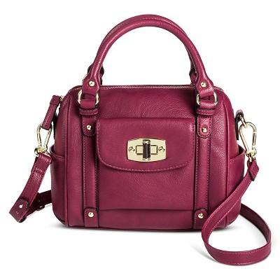 view Women s Mini Satchel Faux Leather Handbag with Removable Crossbody  Strap - Merona on target. 0fda14306