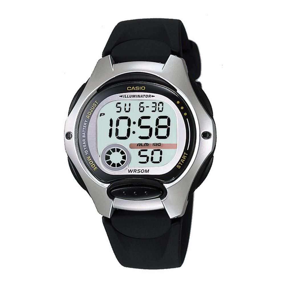 Womens Digital Watch Black LW200-1AV - Casio