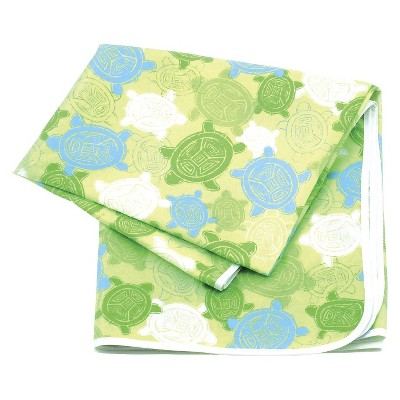 Bumkins Waterproof Splat Mat - Turtles