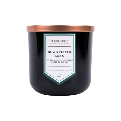 Jar Candle Black Pepper Moss 12oz - THE COLLECTION by Chesapeake Bay Candle®