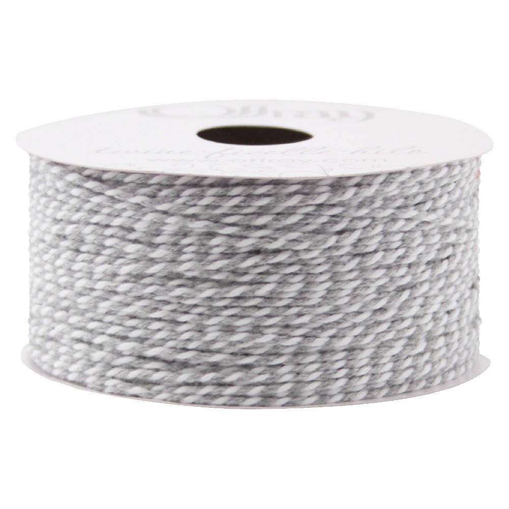 White/Gray Gift Tie-on - Spritz