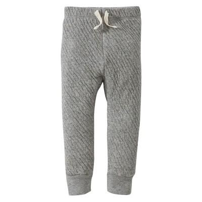 Burts Bees Baby™ Newborn Fashion Pants - Hthr Gray 18 M