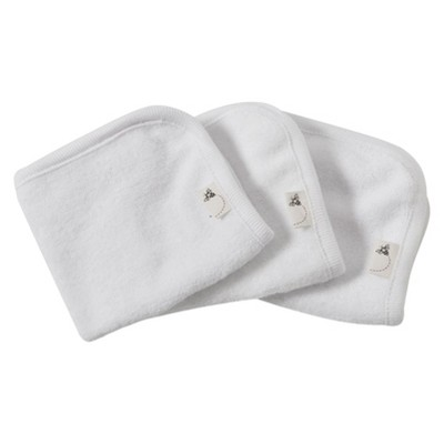 Burt's Bees Baby™ Organic 3 Pack Washcloth Set - Cloud