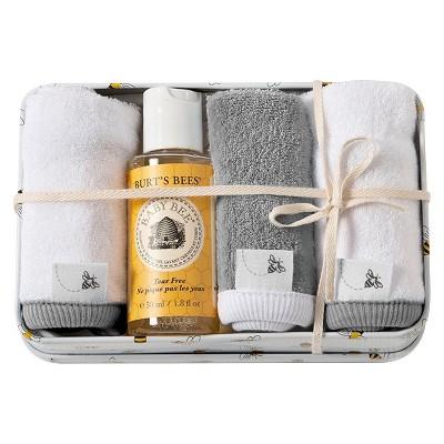 Burt's Bees Baby® Newborn Washcloth Set - Heather Gray