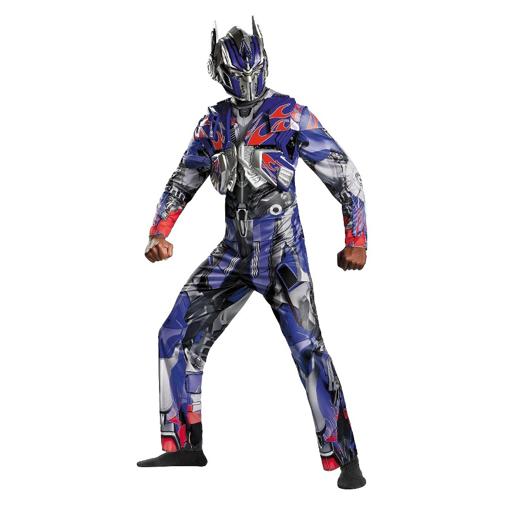 Disguise Inc Transformers Men's Deluxe Optimus Prime Cost...