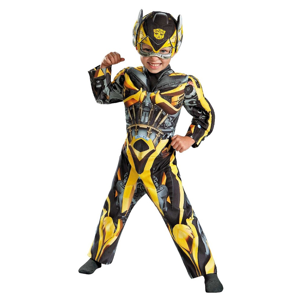 Transformers Age of Extinction Toddler Boys' Bumblebee Costume 3T-4T