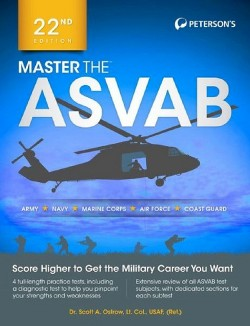 Peterson's Master the Asvab (Paperback) (Dr. Scott A. Ostrow)