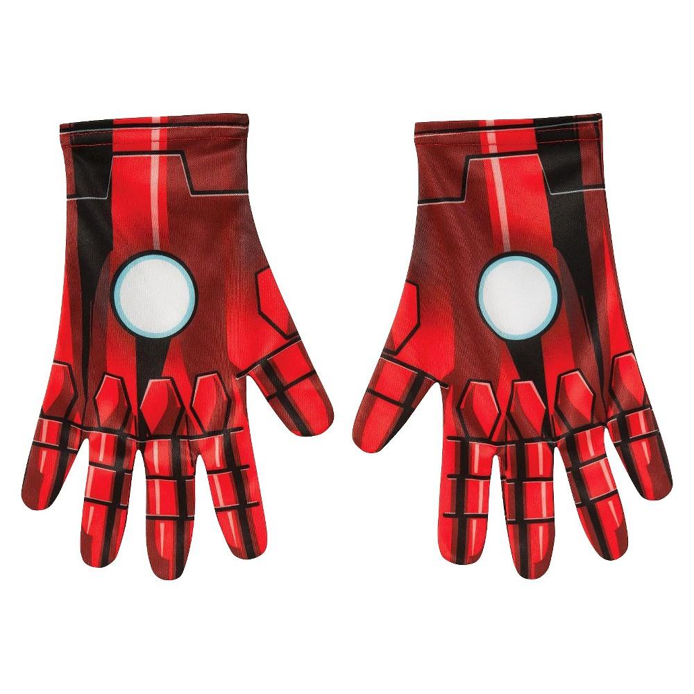 Mens Marvel Universe Iron Man Costume Gloves