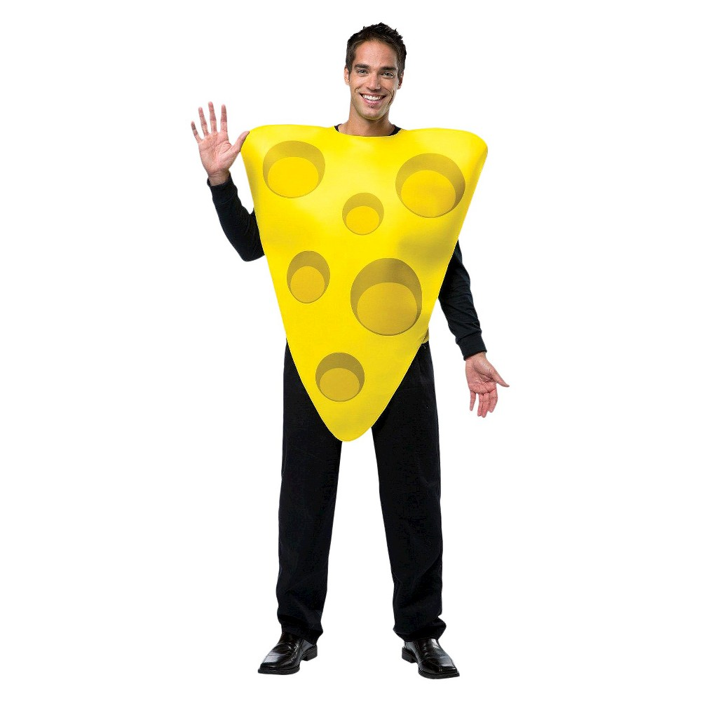 Adult Cheesy Cheese Tunic Costume One Size Fits Most,  Adult Unisex plus size,  plus size fashion plus size appare