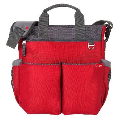 Skip Hop Duo Signature Diaper Bag, Red