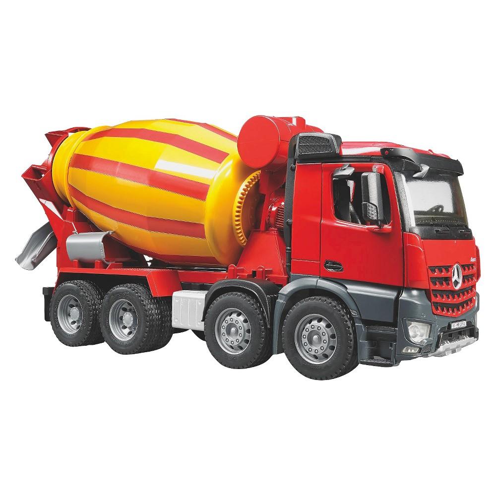 Bruder Arocs Halfpipe Dump Truck