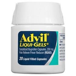 Advil® Pain Reliever/Fever Reducer Liqui-Gels Capsules - Ibuprofen (NSAID)