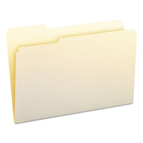 Smead® 1/3 Cut First Position One-Ply Top Tab File Folders (100 per Box) - image 1 of 4