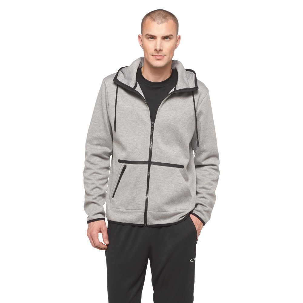 Men's Activewear Track Jackets - C9 Champion Gray S