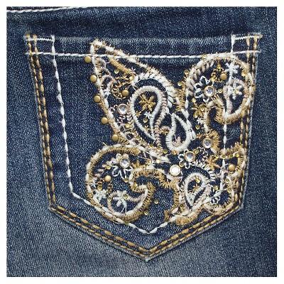 Plus Size Girls' Bootcut Jean - 8+ Dark Blue, Girl's, Size: 8 Plus, Variation Parent