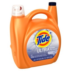 Tide Ultra Stain Release Original Scent Liquid Laundry Detergent 133 oz