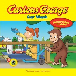 Curious George Car Wash (Hardcover)