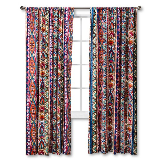 talavera curtain panel mudhut target
