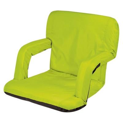 Picnic Time Ventura Portable Stadium Seat   Lime (10.0 Lb)