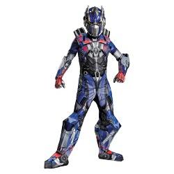 Transformers Age of Extinction Boys' Prestige Optimus Prime Costume