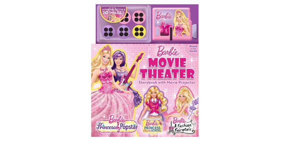 Barbie Movie Theater : The Princess and the Popstar / A Fashion Fairytale / Princess Charm School