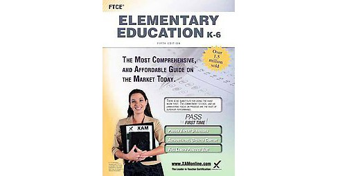 FTCE Elementary Education K-6 (Paperback) - image 1 of 1