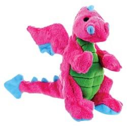 GoDog™ Dragons Dog Chew Toy - Pink