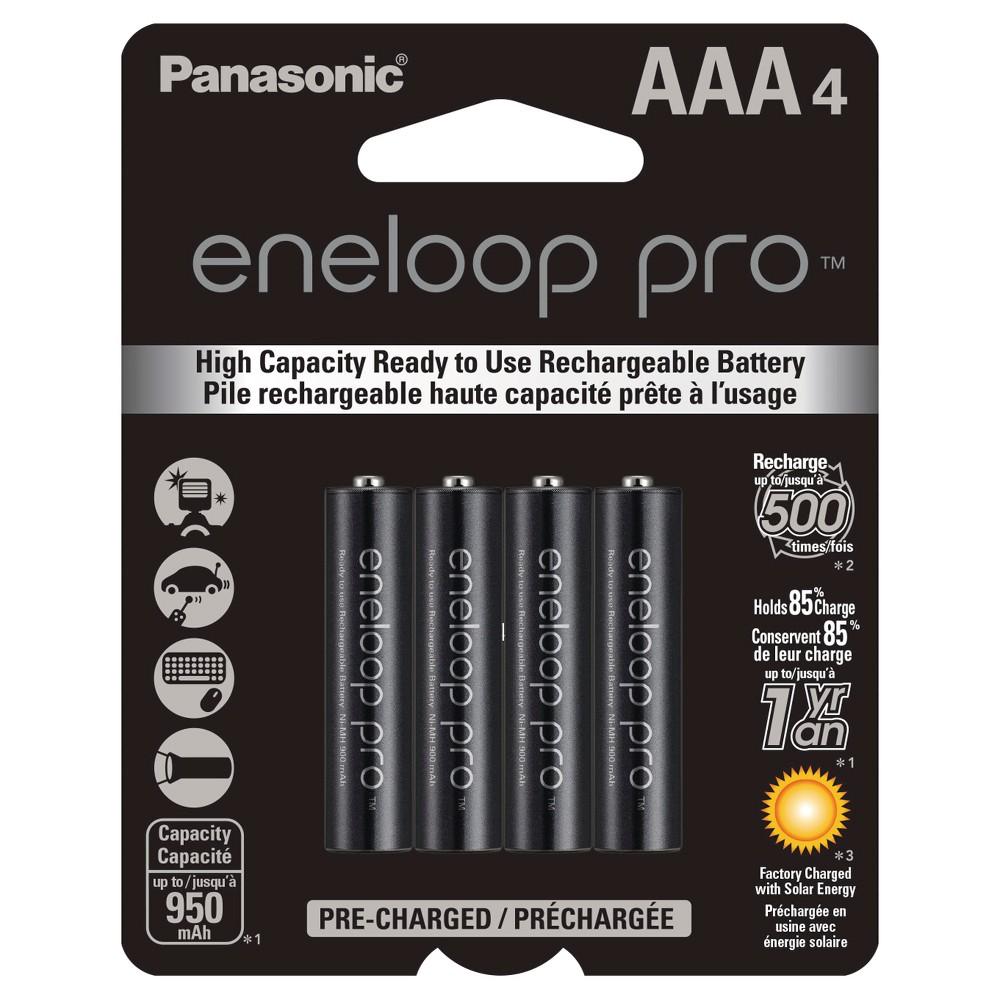Panasonic eneloop pro Aaa High Capacity, Ni-MH Pre-Charge...