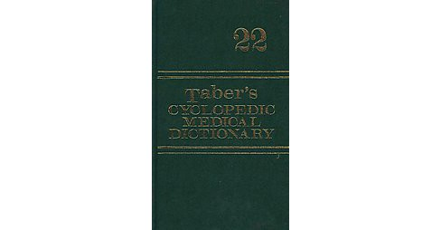Taber's Cyclopedic Medical Dictionary (Mixed media product) - image 1 of 1