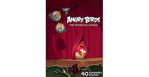 Angry Birds : The Poster Collection (Paperback) - image 1 of 1