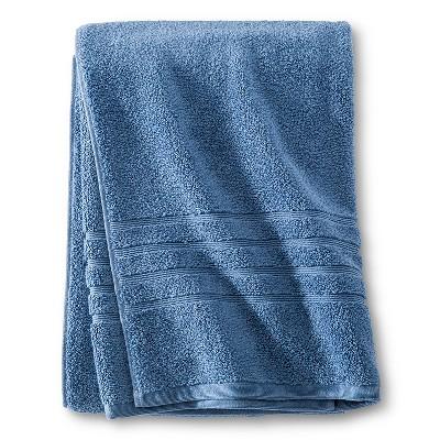 Luxury Bath Sheet Kettle Blue - Fieldcrest™