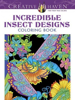 Creative Haven Incredible Insect Designs Adult Coloring Book