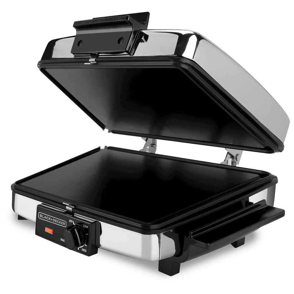 Black+decker 3-in-1 Waffle Maker & Indoor Grill/Griddle, ...