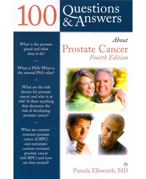 100 Questions & Answers About Prostate Cancer (Paperback) (M.D. Pamela Ellsworth) - image 1 of 1