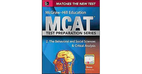 McGraw-Hill Education MCAT 2015 Behavioral and Social Sciences & Critical Analysis : Cross Platform - image 1 of 1