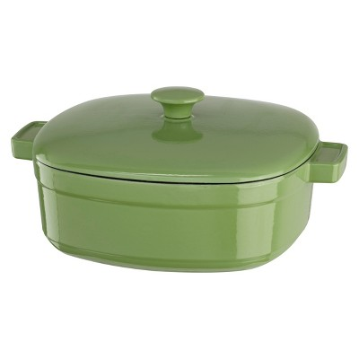 KitchenAid® 6 Quart Streamline Cast Iron Casserole - KCLI60CR