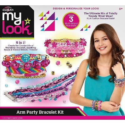 My Look Arm Party Bracelet Kit By Cra Z Art Brickseek