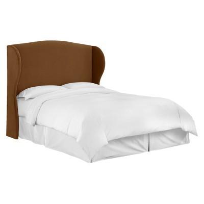 tilton fenwick wingback headboard velvet skyline furniture
