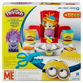 Play-Doh Despicable Me Minions Disguise Lab Set with 4 Cans of Dough