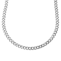 """Men's Crucible Stainless Steel Large Chain Necklace (24"""")"""