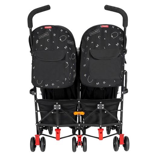 maclaren twin triumph stroller - black/charcoal : target