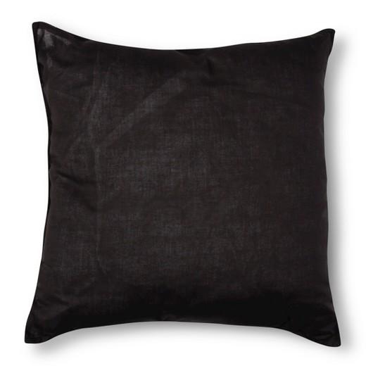 Zebra Throw Pillows Target : Black&White Zebra Print Square Throw Pillow (18