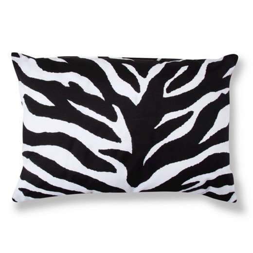 Black Amp White Zebra Print Oblong Throw Pillow 20 Quot X14