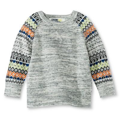 Infant Toddler Boys' Sweater - Heather Grey 12 M